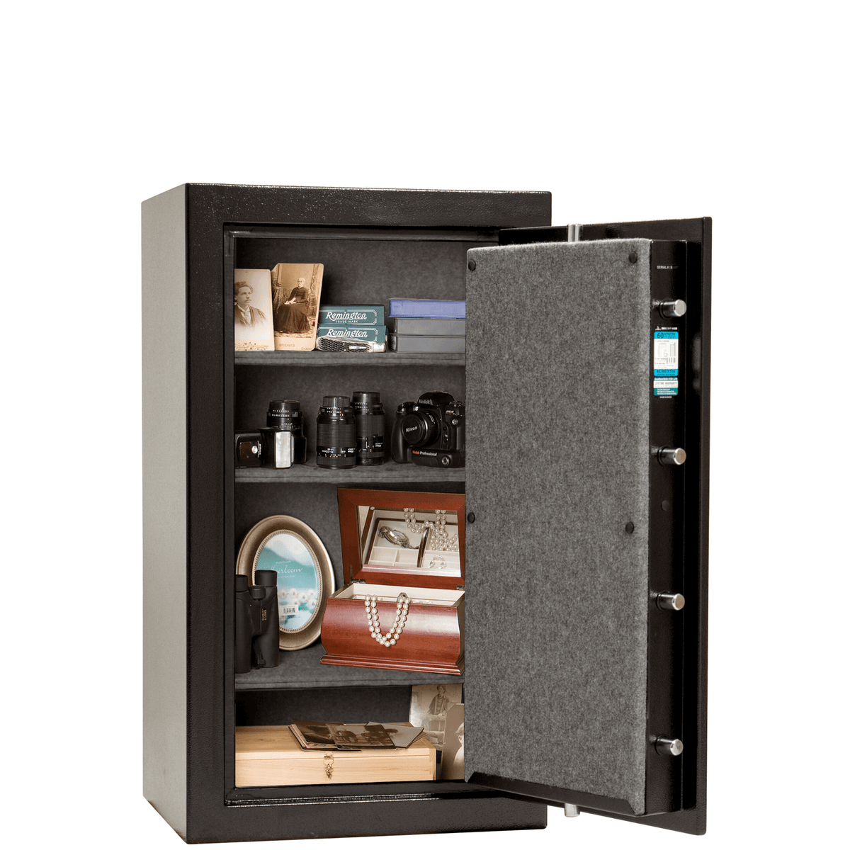 Liberty Home Safe 12 Black with electronic Lock