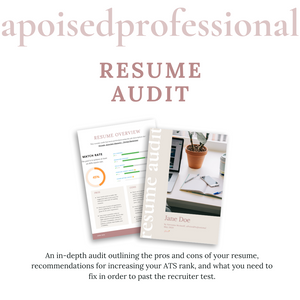Resume Audit