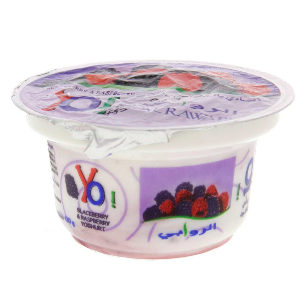 Pack of 6 Yoghurt-Blackberry Raspberry