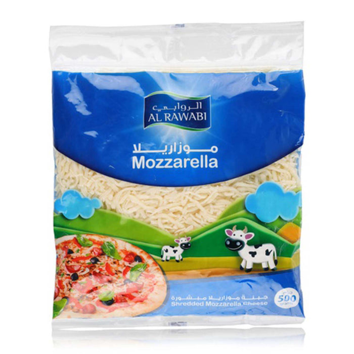 Shredded Mozzarella Cheese 500g