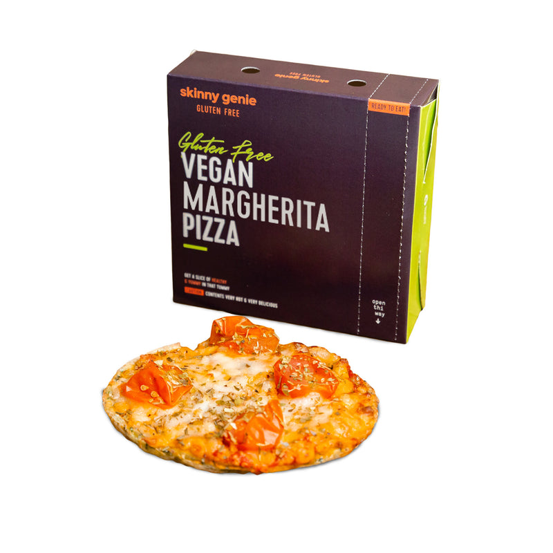Vegan GF margherita pizza 6pcs