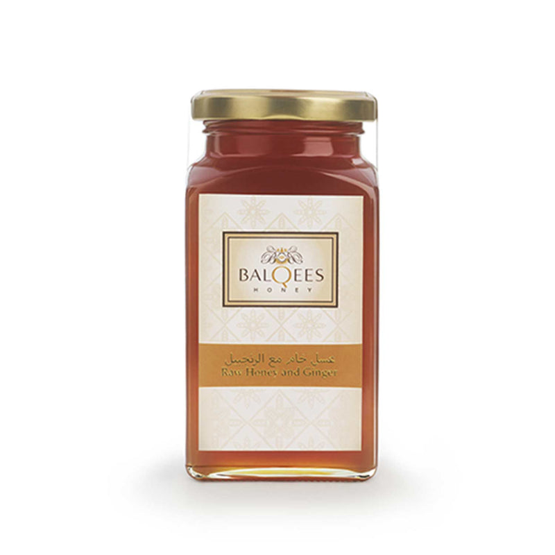 Balqees Raw Honey and Ginger Fusion