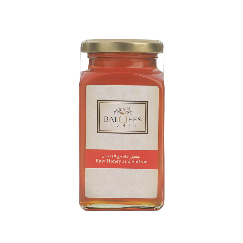Balqees Raw Honey and Saffron Fusion