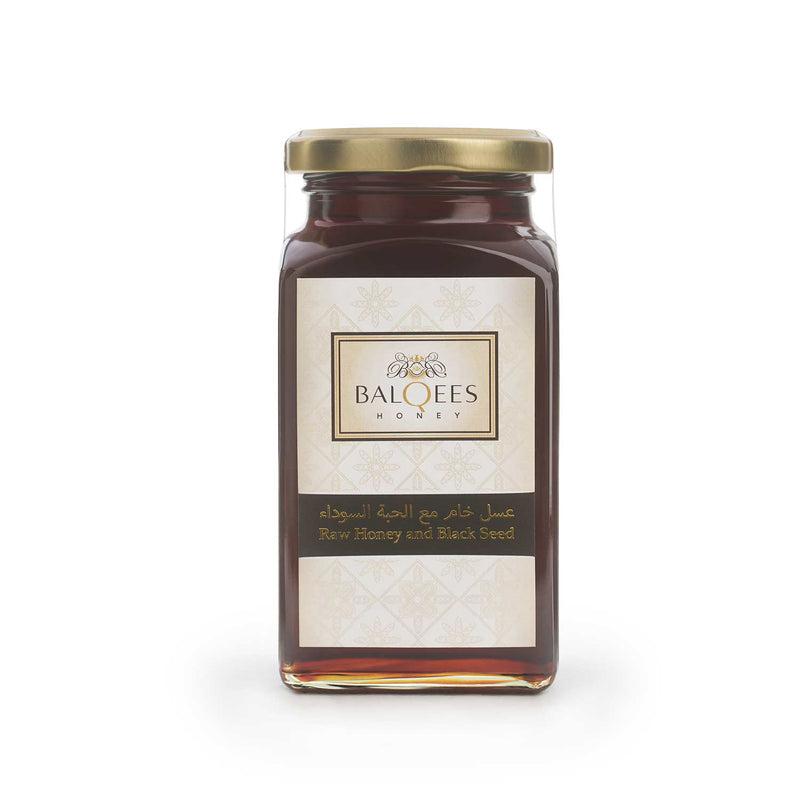 Balqees Raw Honey and Black Seed Fusion