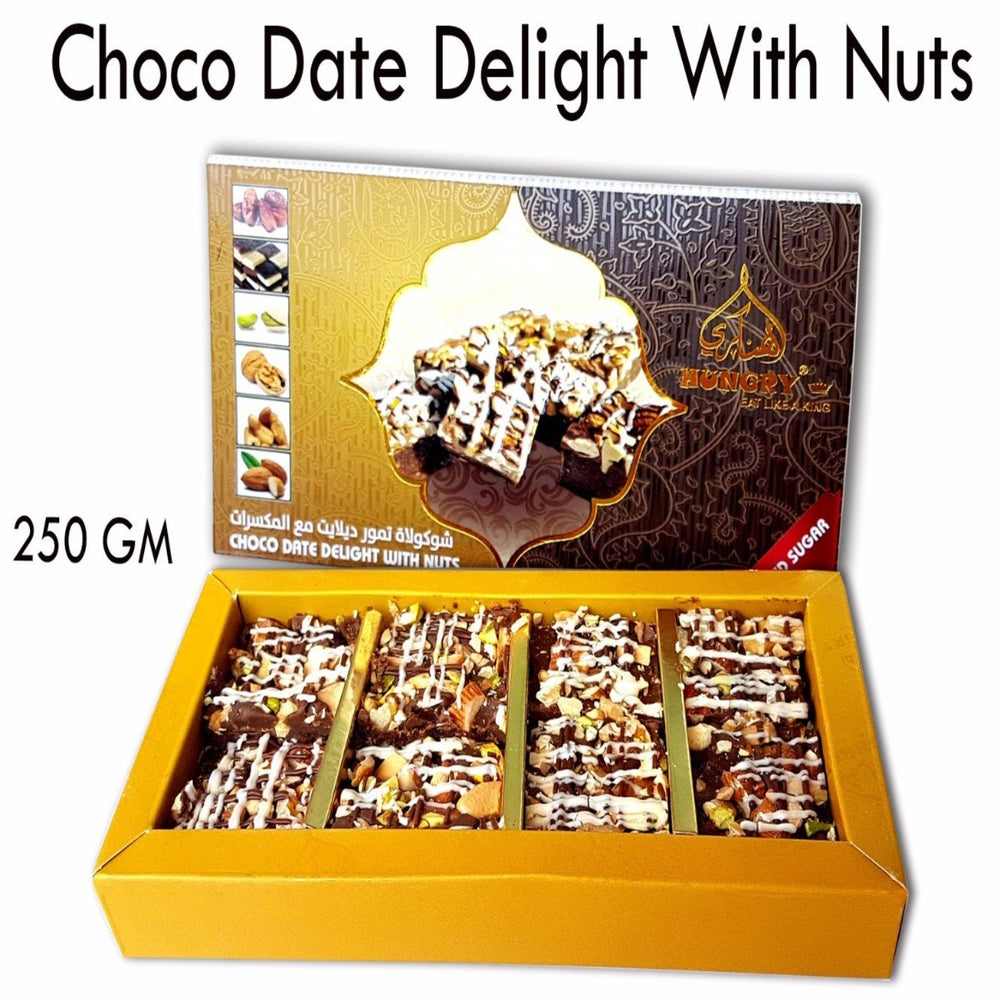 Choco Date Delight With Nuts