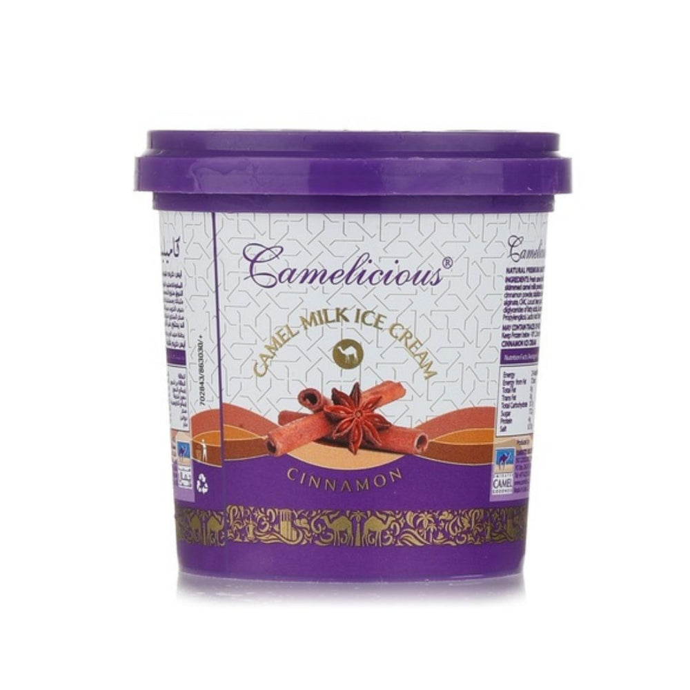 Load image into Gallery viewer, Cinnamon Camel Ice Cream 125ml