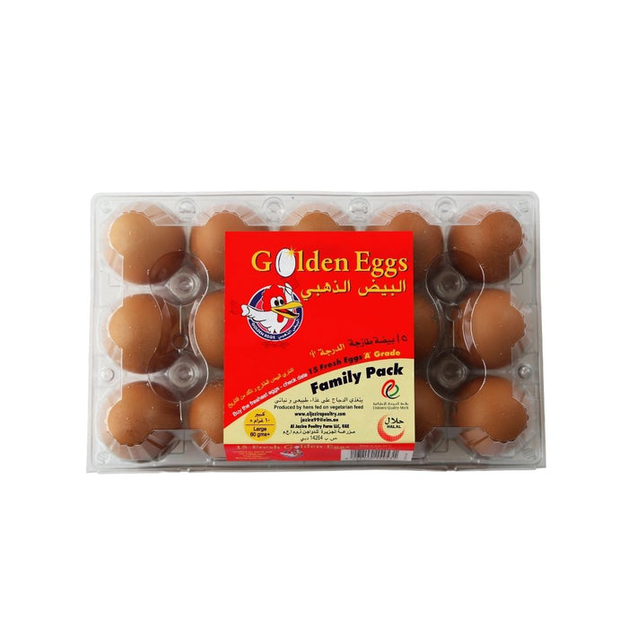 Brown Eggs Family Box 15 Eggs