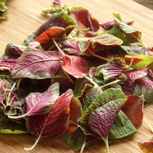 Organic Spinach 200 g Heirloom Red Callaloo
