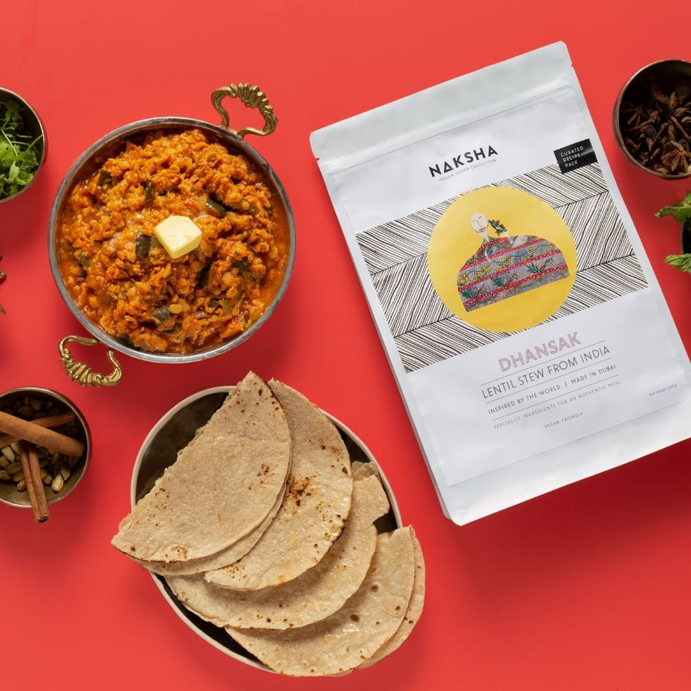 Hearty Lentil Stew from India - Kit for 2