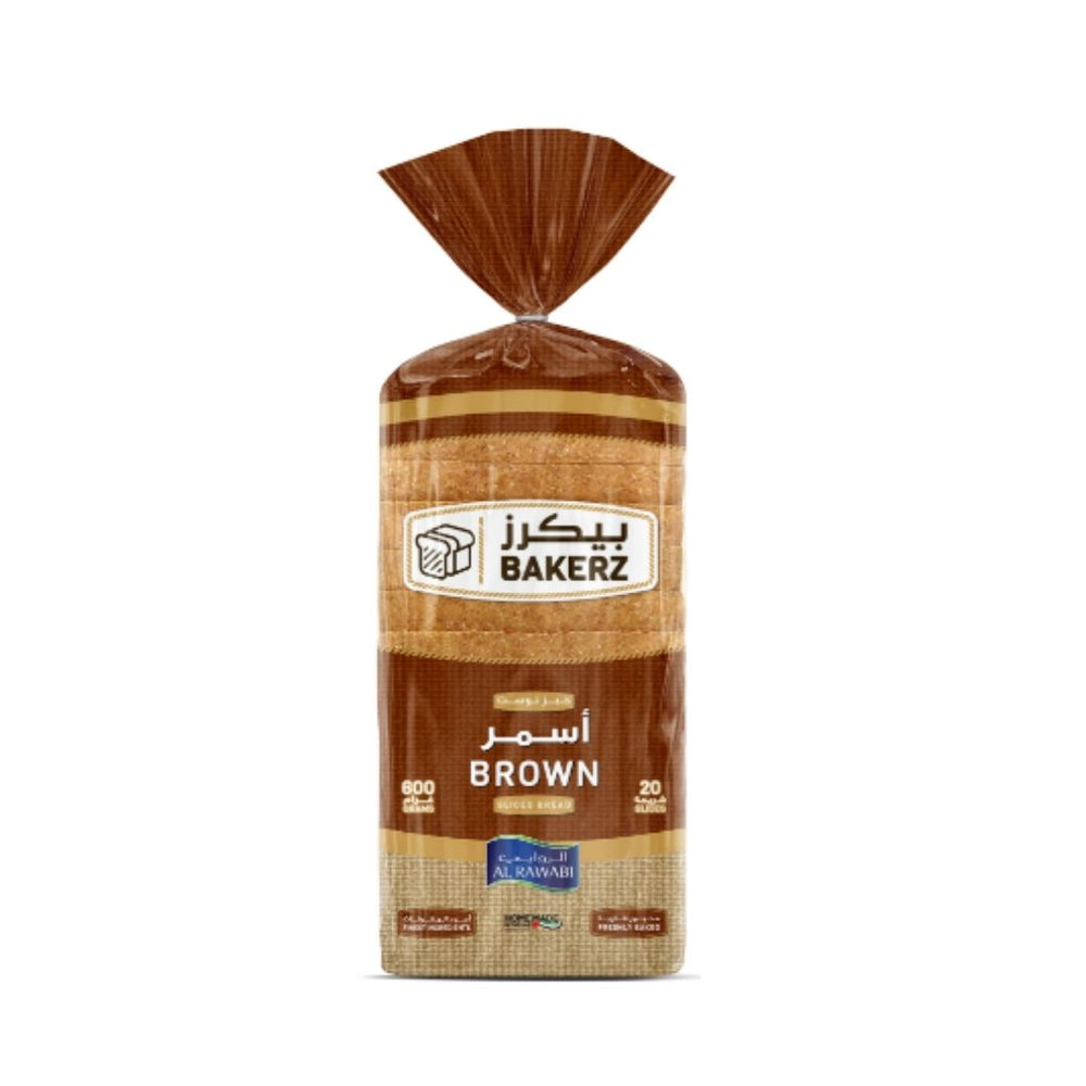 Sliced Brown Bread 600 g