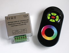 RGB Controller w/ Sync-able RF Touch Color Remote