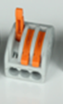 Wago Wiring Connector -  3 pin Conductor Terminal