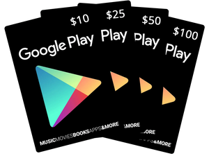 Google Play Cards - USD