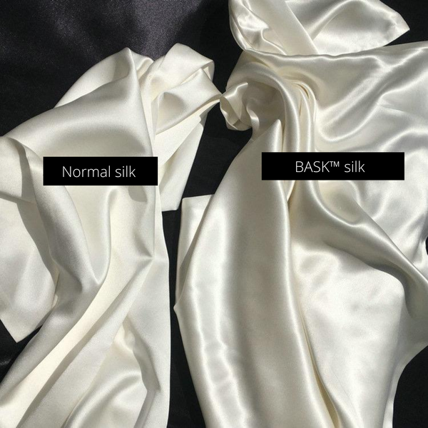 why BASK™ silk pillowcase is different?