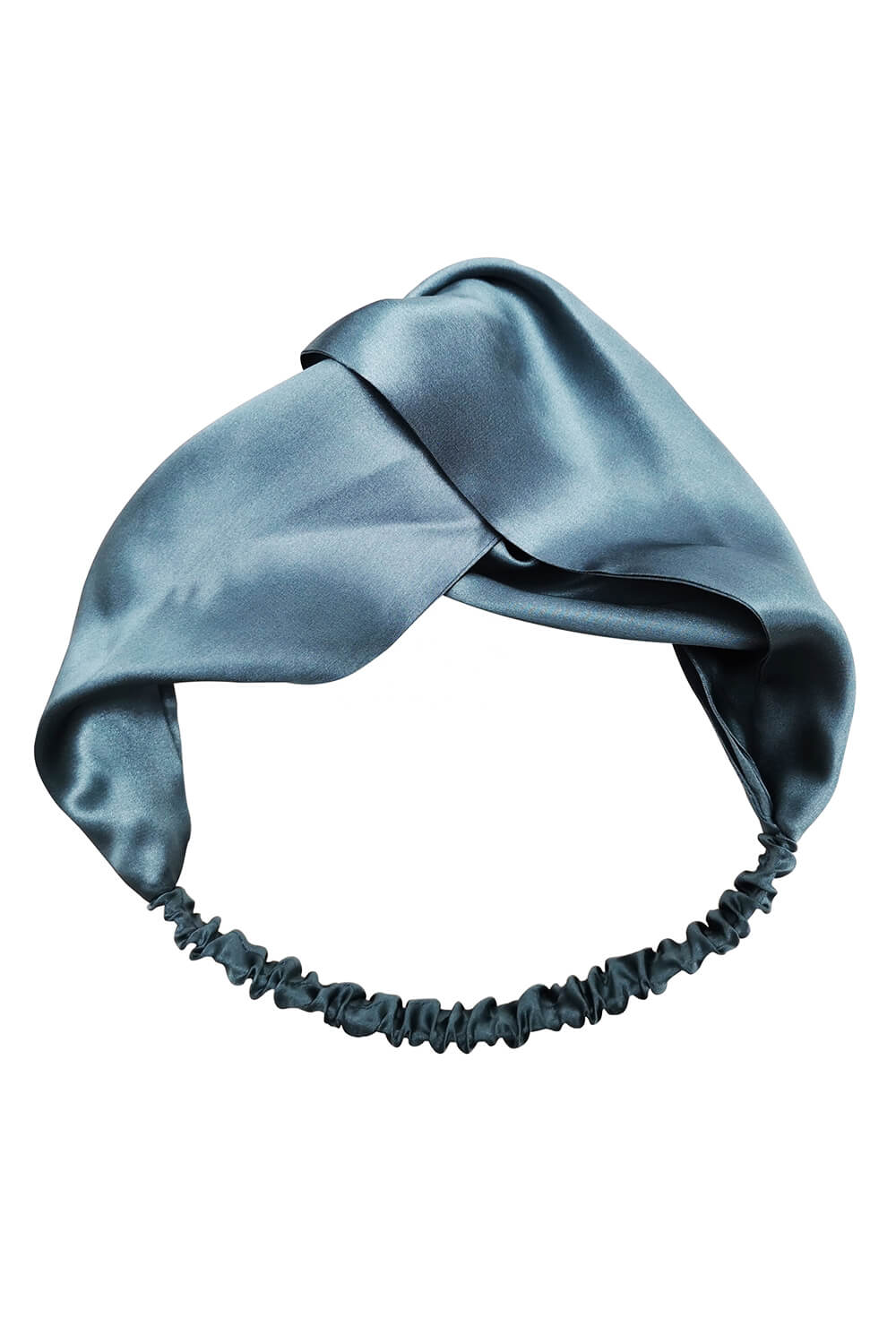 Silk Headband - Provincial Blue