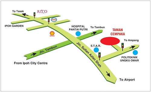 FT Office Location Map