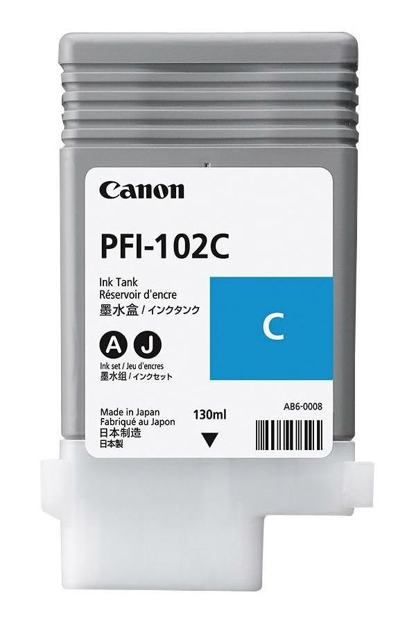 CANON PFI-102C Cyan Ink Cartridge