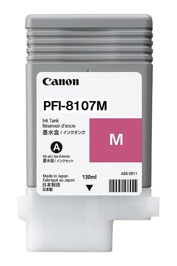 CANON PFI-8107M Magenta Ink Cartridge