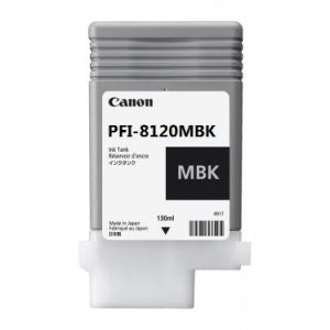 CANON PFI-8120MBK Matt Black Ink Cartridge