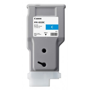CANON PFI-8320C Cyan Ink Cartridge