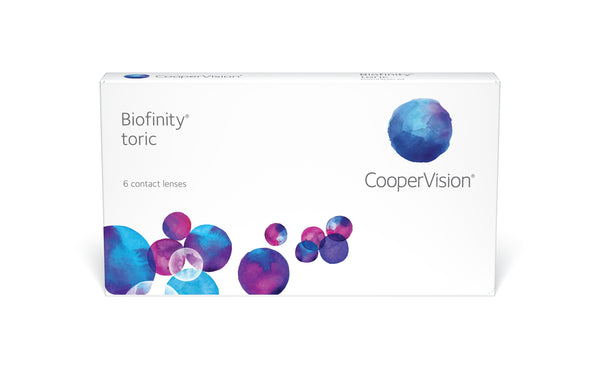 Biofinity Toric - 1 Year Supply (4 Boxes/6pks)