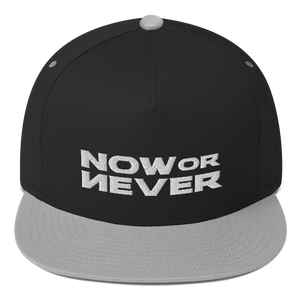 Now or Never Flat Cap