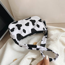 Load image into Gallery viewer, Cow Milk Print Women Handbag