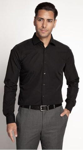 Strellson Slim-Fit Shirt , black