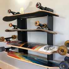 "Load image into Gallery viewer, Skateboard Organizer 26"" (Holds 4)"