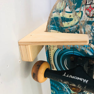 Skateboard Rack (Holds 5 mid size boards)  Garage, bedroom, man-cave, basement