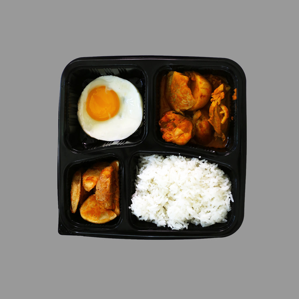 Chicken Curry Bento Set