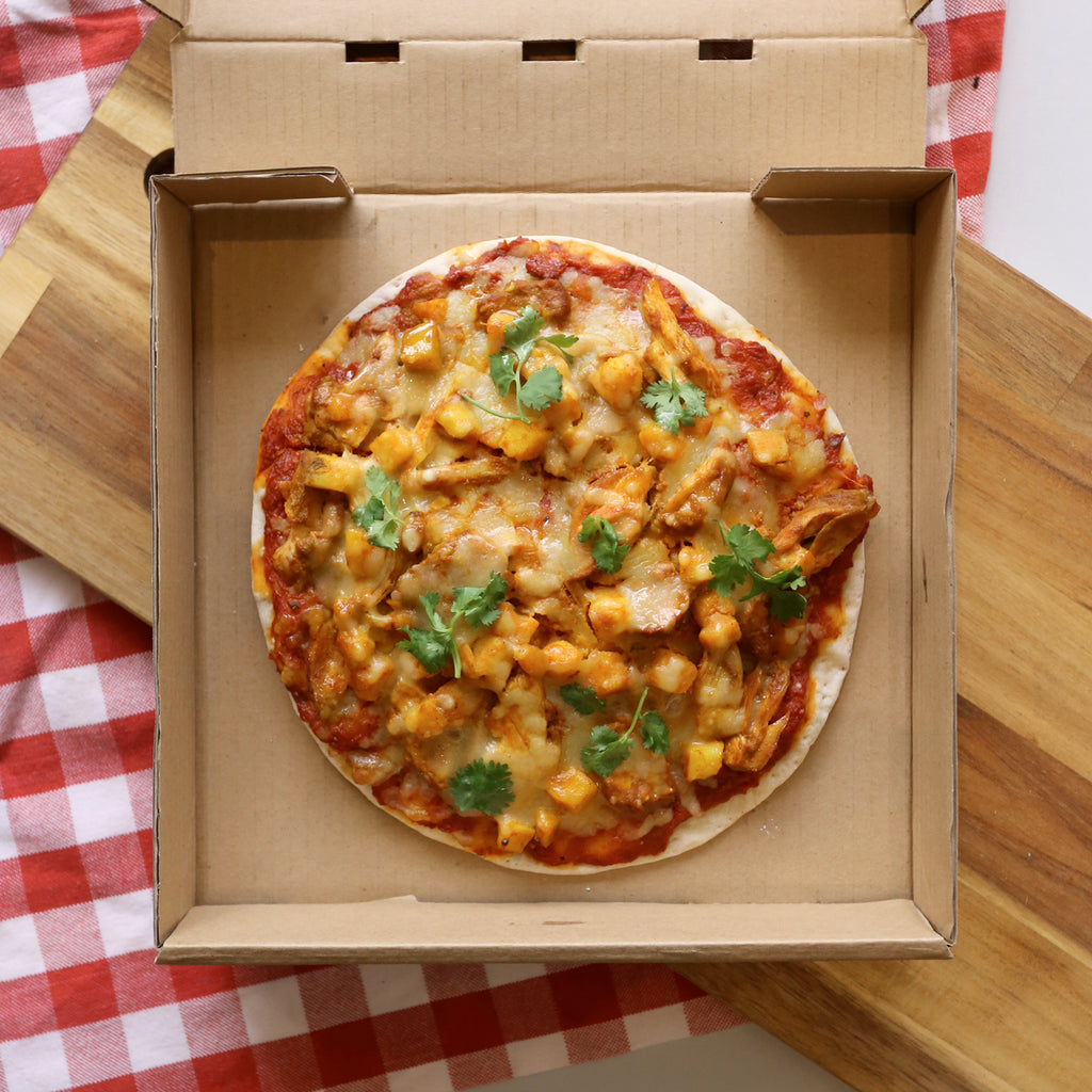 Chicken Curry Pizza 9""