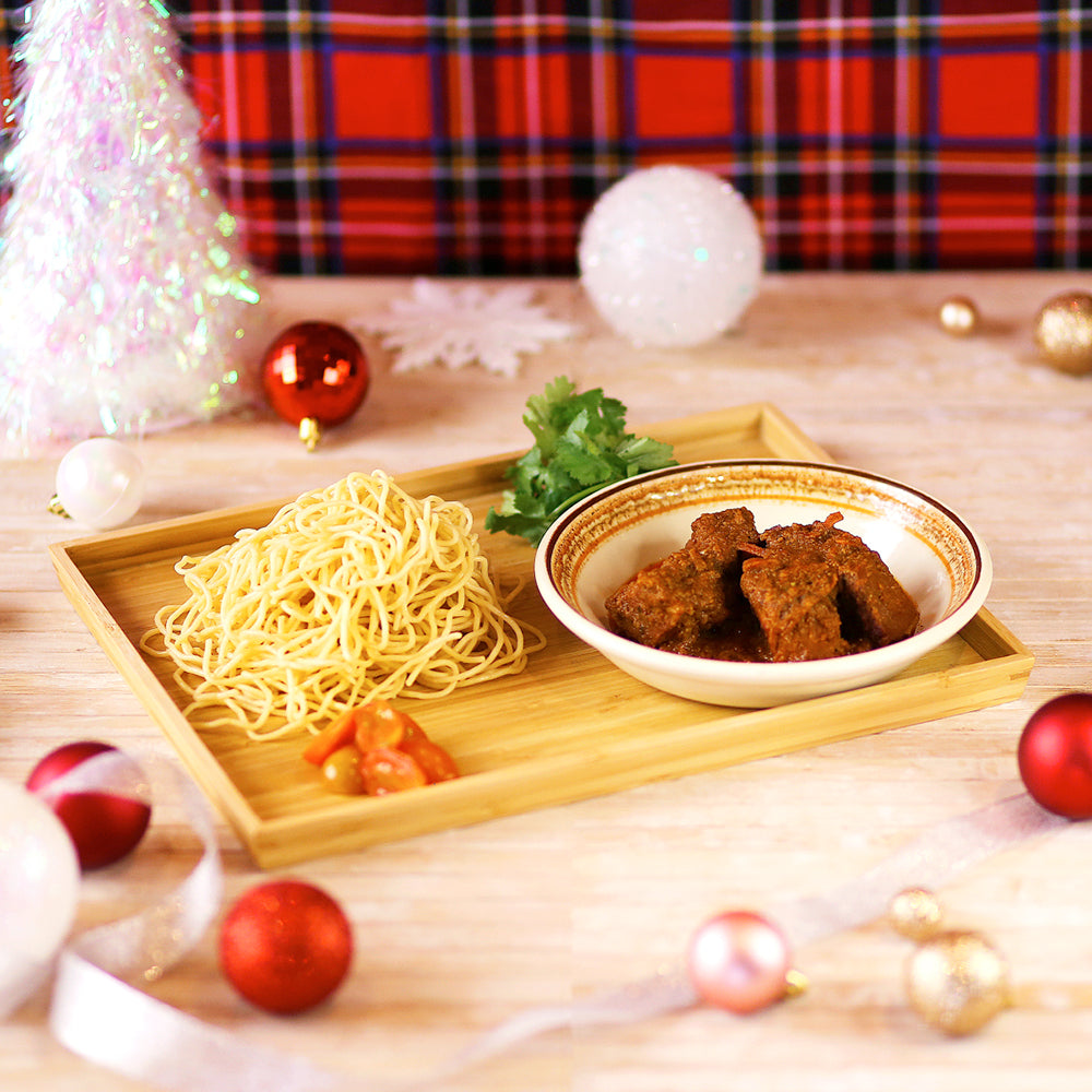 D-I-Y Beef Rendang Pasta Kit for 2 Pax