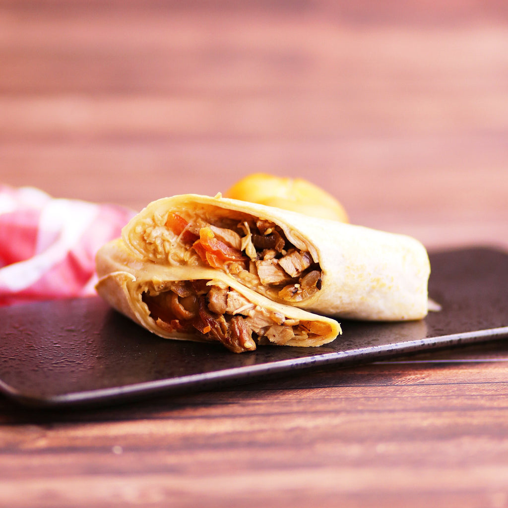 Teriyaki Chicken Wrap (Free Coffee or Tea)