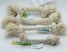 Load image into Gallery viewer, 100% Cotton Eco-Bone Toys