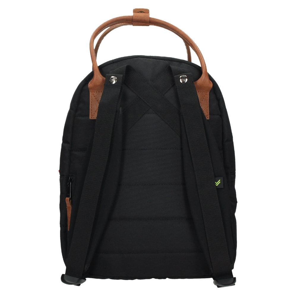 MOCHILA MONTREAL FANCY BLACK PETIT MINI