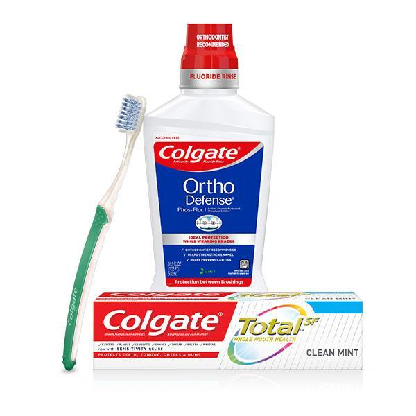 Colgate Ortho kit - Rinse Therapy