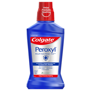 Colgate Peroxyl Mouth Rinse Mild Mint 16.9 oz