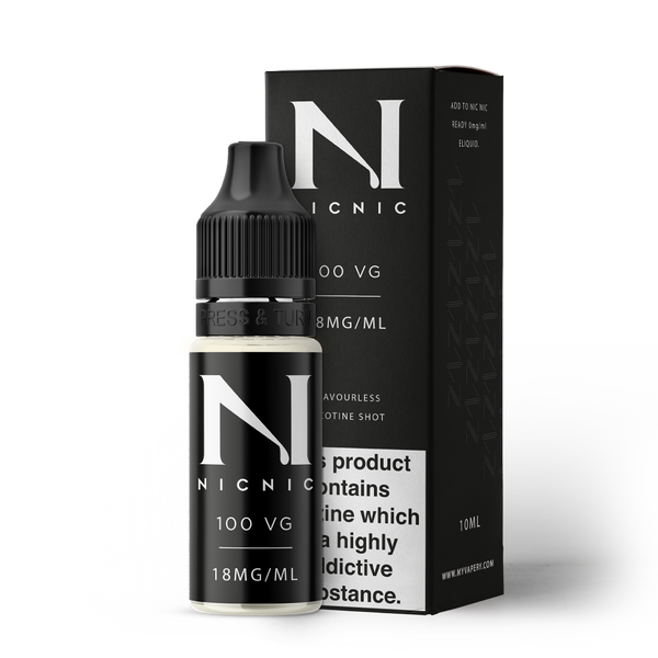 NIC NIC 10ML NICOTINE SHOT (EN) - 18MG/ML - 100% VG