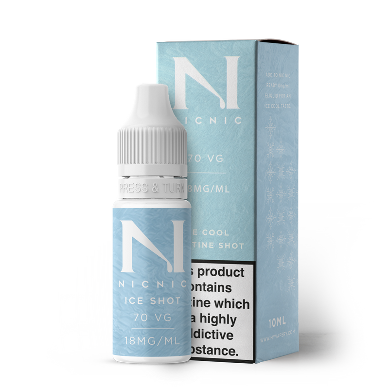 NIC NIC ICE SHOT 10ML NICOTINE SHOT (EN) - 18MG/ML