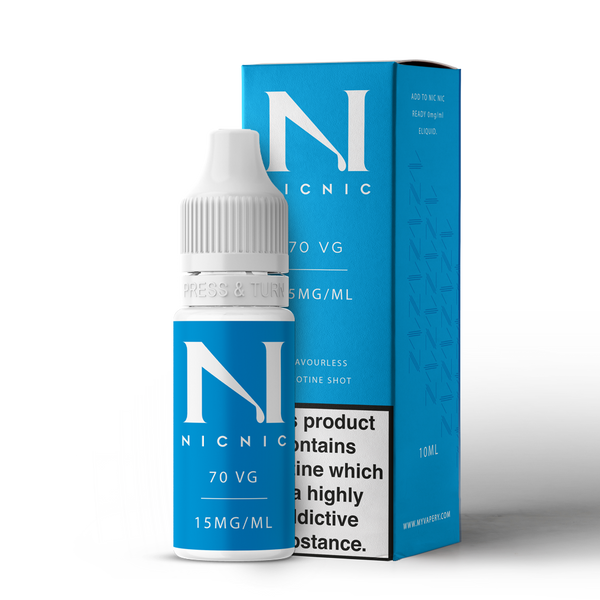 NIC NIC 10ML NICOTINE SHOT (EN) - 15MG/ML - 70% VG