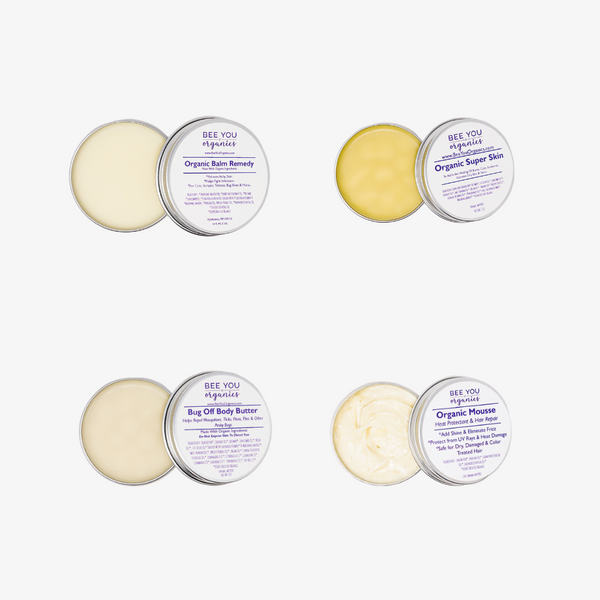 Organic Skin Care Sampler - Four for $25