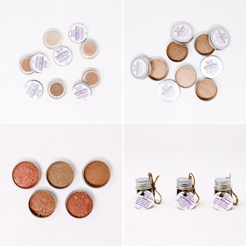 Organic Makeup Travel Set