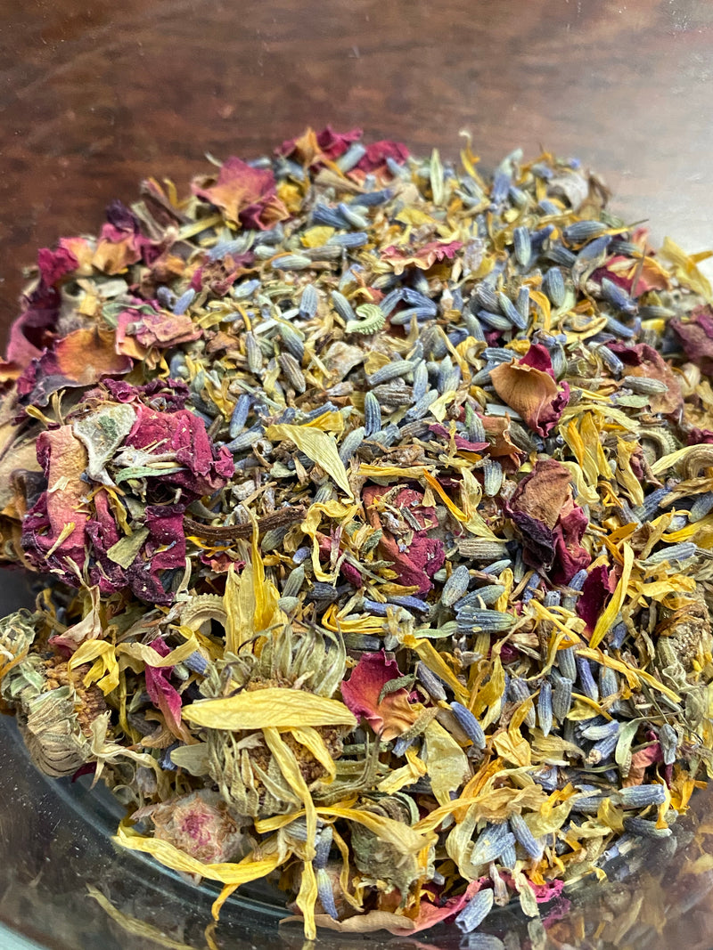 Organic Rose Coconut Milk Heavenly Bath Tea