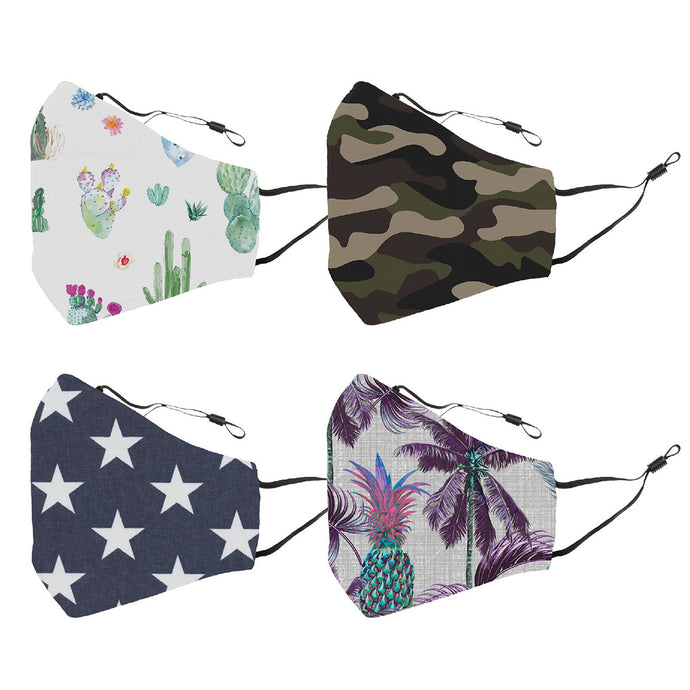 Reusable Face Cover 4-Pack