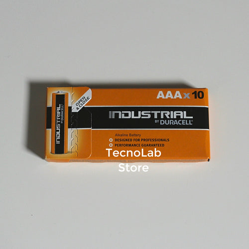 Duracell Industrial batterie alcaline AAA 1.5 V LR03 (10 pezzi)