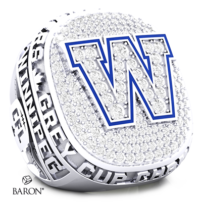 Winnipeg Blue Bombers Championship Fan Ring