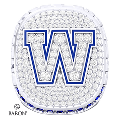 Winnipeg Blue Bombers Championship Replica Ring