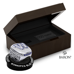 Championship Ring & Ring Box Bundle by Baron is from the The Official Winnipeg Blue Bombers Championship Ring Collection