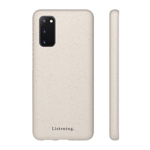 Biodegradable Samsung Case - Listening Store